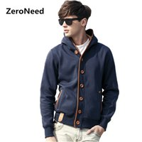 Wholesale Long Style Sweatshirts - Wholesale- Hoody Sweatshirts Men's Sportswear Hoodies Men Style Hip Hop Fleece Long Sleeve Hoodie Slim Fit Sweatshirt XXXL Hoodies Male 16