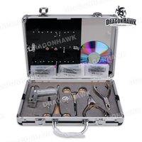 Wholesale Tattooing Piercing Kits - Body Piercing Kit Pierce Tattoo Kit Piercing Supplies With Fashion Jewelry
