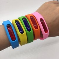Wholesale Bugs Insects Kids - Anti Mosquito Repellent Bracelet Hand Strap Pest Insect Bugs Repeller Wrist Band Summer Adjustable Night Ring Children Kid Outdoors