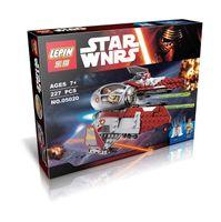 Wholesale Toy Bicks - LEPIN 05020 No box Star Wars Obiwan's Jedi interceptor Micro Fighters Building Bicks Blocks Baby toys
