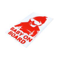 Wholesale bumper board - Car Stickers Decals Baby On Board Window Bumper Locker Sticker For Car