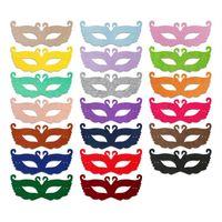 Wholesale Princess Masquerade Masks - Halloween Party Mask Swan Princess Half Maks Venetian Unisex Masquerade Venetian Mask Masks Cosplay Party Props IC637