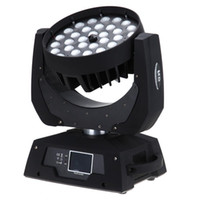 Wholesale Cheap Led Lights Bulbs - Free shipping China Cheap RGBWA 5 in 1 Zoom 36*15W DMX LED Moving Head Wash Light