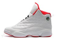 Cheap New Jumpman Retro 13 XIII ALL White Red Chaussures de basket-ball pour hommes Chaussures de sport femme Chaussures de course pour homme Sports designer Chaussures Taille 36-47
