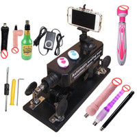 Wholesale Machine Sex Tools - 2017 Upgrade Affordable Sex Machine Set and Women Automatic Masturbation Love Robot Machine Sex Toys with Tool Kit for Couple