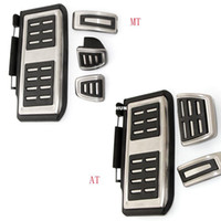 Wholesale Piston Vw - Car Accessories Stainless Steel Pedal Cover For VW GOLF 7 GTi MK7 Lamando POLO A05 Passat B8 Skoda Rapid Octavia 5E 5F A7 2014+