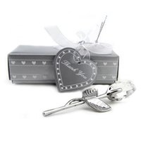Wholesale crystal wedding giveaways resale online - Bridal Shower Favors Choice Crystal Long Stemmed Rose Wedding Party Giveaway Souvenir Gift For Guest