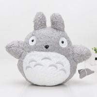 Wholesale miyazaki plush online - 10 cm My Neighbor Totoro Hayao Miyazaki Studio Ghibli Plush Stuffed Toy Totoro Plush Toys Dolls