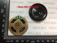 Wholesale Small Wholesale Dvds - Wholesale- 2PCS LOT Diameter 40MM 4CM small speakers 8R0.5W 5W8R speakers DVD EVD dedicated speakers