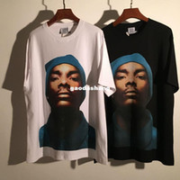 Wholesale NEW VETEMENTS SNOOP DOGG T Shirt Men Hip Hop Oversize Skateboards Kanye Summer Style Harajuku Shark Cotton T shirts