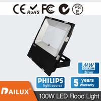 Wholesale Outdoor Led Flood Fixtures - 100W LED Flood Light Outdoor ligh 250W HPS Bulb Equivalent 10000 Lumen, Outdoor Floodlight Area Security Lighting Fixture,IP65 Waterproof YH