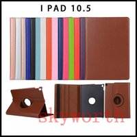 Wholesale S3 Mini Protective Covers - For Samsung Galaxy Tab S2 T810 S3 T820 Tab E T560 ipad 10.5 mini 5 Leather Case 360 Rotating Magnetic Cover Stand