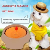 Wholesale Wet Cups - New Creative Design Of Automatic Plastic Floating Pet Bowl Not Wet Mouth Not Dirty Bear Small Medium Sized Dogs Cats Supplies