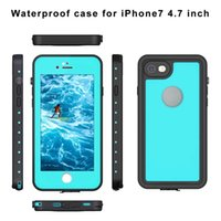 Wholesale Underwater Blue Lights - For Redpepper Full Screen Photography IP68 Waterproof Shockproof Underwater Case for iPhone 7 Plus Phone Cover Coque Capinha