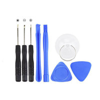 Wholesale Pentalobe Set - 8 in 1 Repair Opening Pry Tools Kit Set with 5 Point Star Pentalobe for iPhone 5 5s 6 Plus 7 free DHL
