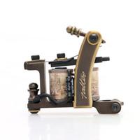 Wholesale machine gun sales - New! Top Sale Tattoo Machine High Quality Handmade Tattoo Shader Gun for Tattoo Kit Supply TM452