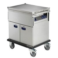 Wholesale kindelt bain marie trolley with single well cupboard trolley legs with brakes good quality kitchen serving bain marie