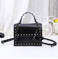 Wholesale Diamante Large Handbags - 2017 new Fashion women handbags patent leather bags women bag large bag European and American Shoulder Messenger bags