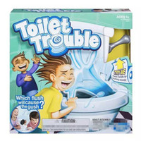 Wholesale Tricky Toilet Toy - 2017 New kids Toy Toilet Trouble Game Washroom Tricky Toys Funny Game Parents-kids Friends Play Together For Fun As a Gift F960