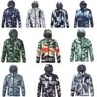 Wholesale Men Rainproof Jacket - Factory price Men 3D Explore Camouflage windbreak Jackets hoodie hood by air men Outerwear patchwork Winter RainProof Coats Men's Clothing