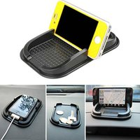 Car Dashboard Sticky Pad Non Slip Mat Gadget GPS Mobile Phone Holder Noir M00062 VPRD