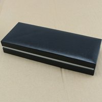 Wholesale New Design Pen Box - Free shipping NEW hot sell High Quality design Black pen box with Service Guide Book Classic Style.