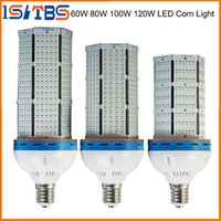 Wholesale E27 Cree Cob Led Bulbs - Super Bright Led corn bulb E27 E40 60W 80W 100W 120W Led Corn Light 360 Angle SMD 2835 Led lamp lighting AC 85V-265V