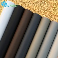 Wholesale Matt Film - 60Cm *3M Solid Matt Vinyl Self Adhesive Wallpaper Diy Waterproof Wall Stickers Home Decor Films Living Room Kitchen Door Poster