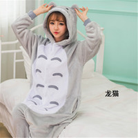 Wholesale Worm Costumes - adult dinosaur pajamas Flannel Onesies Adult Animal Owl Dinosaur Cow Winter Worm Flannel Pajamas For Man and Woman Home