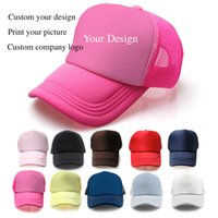 outdoor advertising companies - Blank sponge net ball cap outdoor sports caps advertising gift hats adult sun hat can custom print embroidery company design