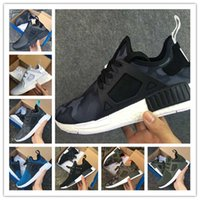 Wholesale Pink Camo Baby - (With Box) Cheap New NMD XR1 Men And Women Black White PINK Friday Duck Camo olive Baby Kids Children Sport Running Shoes Drop Free shipping