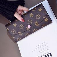 Wholesale Ladies Money Purses - Luxury Clutch Designer Famous Brand Women's Purse Female Bag Ladies Women Wallet Money Carteras Walet Leather Card Holder Cuzdan