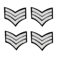 Wholesale armband accessories resale online - Armbands badge patches for clothing iron embroidered Diy patch applique iron sew on style patches sewing accessories for clothes