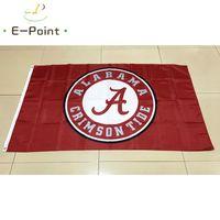Wholesale Alabama Flags - NCAA Alabama Crimson Tide Team polyester Flag 3ft*5ft (150cm*90cm) Flag Banner decoration flying home & garden gifts