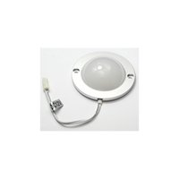 Купить 12v Под Лампой Кабинета-DC 12V 3W Half Spherical LED Under Cabinet Lighting Kit, 110lm LED Puck Lights Under Counter Lighting LED Closet Lights 3000K Warm White