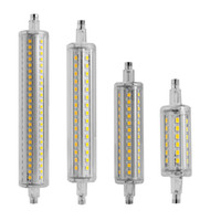 Wholesale Flood Homes - Wholesale-Newest 1PC Aluminum Dimmable R7S 2835 SMD LED Light 80mm 120mm 138mm 190mm Flood Lamp Replacement Home