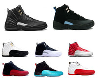 Wholesale canvas shoes wings - Mens new 12 Wings Basketball Shoes Color 9-16 High Quality hot XII Jumpman Basketball Shoes Sports Shoes Size 36-47 Free Shipping