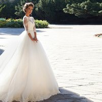 Wholesale Wedding Dresses Ball Gown Dhgate - Long Sleeves Chinese Dhgate Designs White Wedding Dresses 2017 Wedding Dresses For Women Organza Hollow Back Bridal Dress