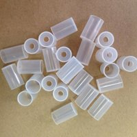 Wholesale Disposable Atomizer Caps Test Cap Soft Silicone Plastic Drip Tips for Electronic Cigarette eGo Series Clearomizer CE4 CE4 CE5 CE5 MT3