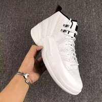 High Quality Retro 12 Sunrise Basketball Shoes Homens Mulheres 12s Sunrise White Athletics Trainers Sneakers New Released With Shoes Box