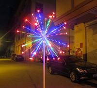 dekoratives feuerwerk großhandel-Geben Sie Schiff 2M /6.6ft Höhe LED im Freienweihnachtsdekoratives geführtes Feuerwerkslicht Weihnachtslicht LLFA frei