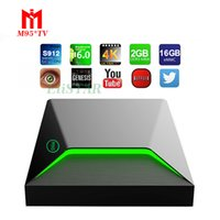 2017 1 PCS M9S Z9 2GB / 16GB Android 7.1 Smart TV Box Amlogic S912 Octa Core CPU KD 17.1 Vollständig beladen 2.4G / 5G Dual Wifi 4K H.265 Set Top Box