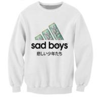 Wholesale Hot Boys Hoodie - NEW Fashion hot 3D print sweatshirts men or women's print sad boys sweatshirt enchantress pullover hoodies free shipping W2713
