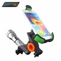 Wholesale Bicycles Etc - Motorcycle Bicycle Phone Holder Motor Bike Mount Stand Cradles for IPhone Samsung HTC etc Mobile Phone GPS PDA MP4 Flash light