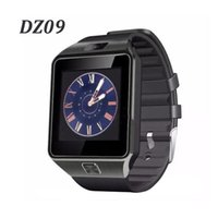 DZ09 Bluetooth Smart Watches Smartwatch для Android Phone Поддержка часов Twitter Facebook Whatsapp SD SIM с шагомер камеры