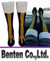 Wholesale Chicken Socks - new fashion men women's causal spring autumn cotton socks cute chicken black pure colors hot sale free size LLFA