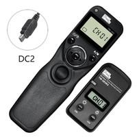 Wholesale Timer Camera Remote Control Wireless - Pixel TW-283 For Canon D750D Nikon D3100 D7100 D7000 D5100 D5000 Sony Camera Wireless Timer Remote Shutter Release Control Cable