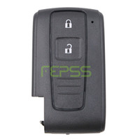 reemplazo de la carcasa de toyota remote shell al por mayor-Reemplazo de alta calidad Shell Keyless Entry Smart Remote Key Fob 2 botón de la caja para Toyota Prius Corolla Verso