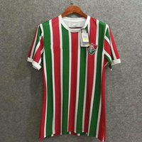 Wholesale Making Clothes - Perfect 17 18 Fluminense home soccer jerseys football shirts AAA soccer clothing customize name number H. DOURADO 9 made in brazil