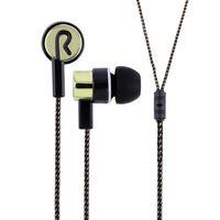 Wholesale Fiber Wiring - Hot Sale!!! Metal Stereo Bass Earphones 3.5mm In-Ear Earbuds 1.1M Reflective Fiber Cloth Line Headset